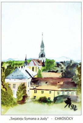 Katholische Pfarrkirche in Crostwitz