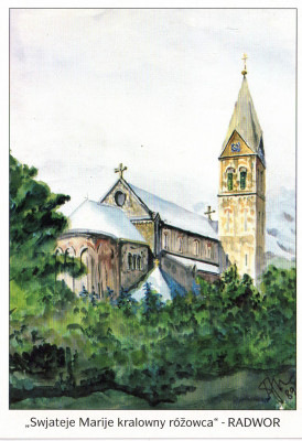 Katholische Pfarrkirche in Radibor