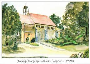 Katholische Pfarrkirche in Sdier