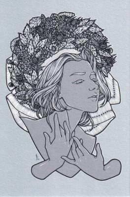 """Postkarte """"Jänschwalder Hochzeit"""""""