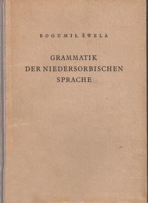 (A) Grammatik der niedersorbischen Sprache