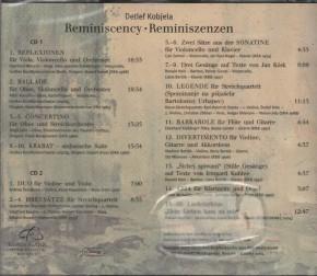 Detlef Kobjela: Reminiscency - Reminiszenzen