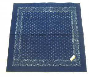 Blaudruck Tischdecke 80 x 80