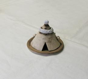 """Keramik """"Räuchermännchen"""" (L)"""