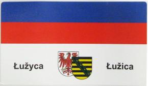nalěpk Łužica 10,5 x 6 cm