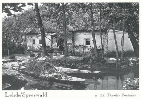 Lehde/ Spreewald z. Zt. Theodor Fontanes (L)