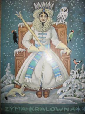 Poster Zyma kralowna