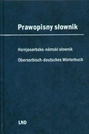 Hornjoserbsko-němski słownik - Prawopisny słownik