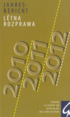 """""""Jahresbericht 2010/2011/2012"""" (L)"""