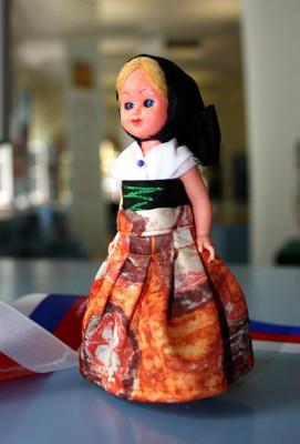 Doll in Sorbian Catholic festival costume
