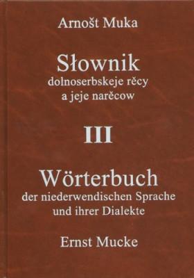 Słownik dolnoserbskeje rěcy a jeje narěcow III (mjenja, dopołnjenja)