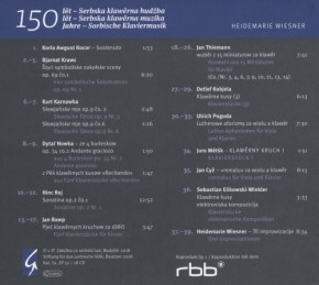 150 lět - Serbska klawěrna hudźba